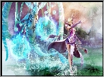 Aion The Tower Of Eternity, Kobieta, Magia, Smok